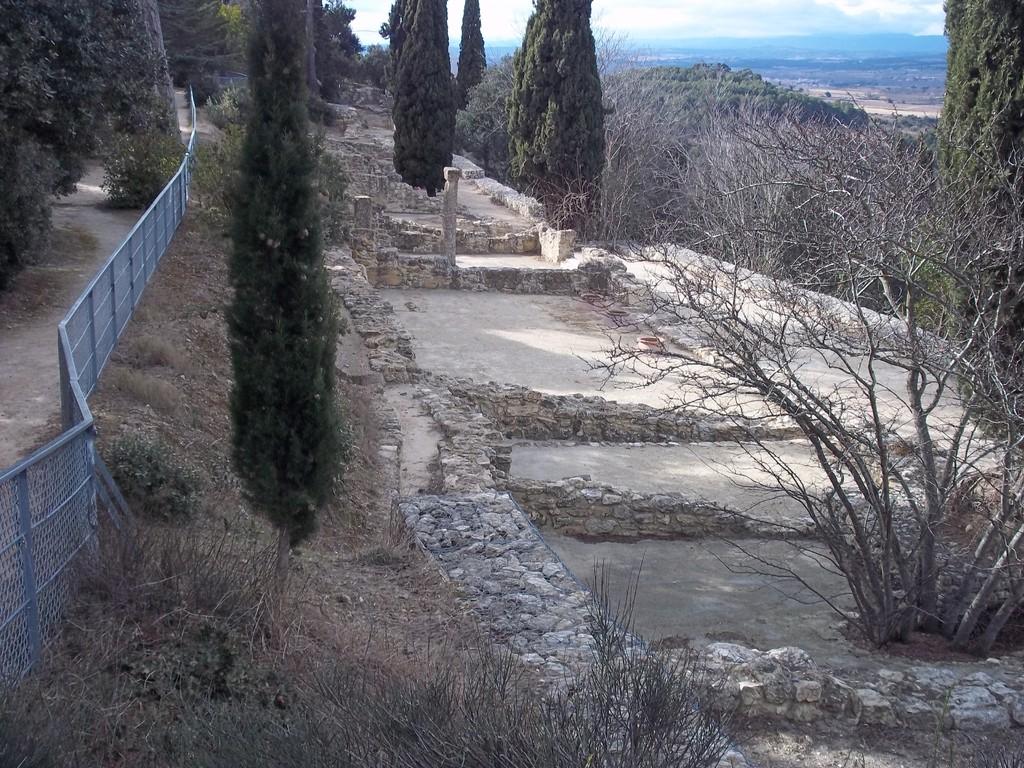 ruines de maisons gauloise