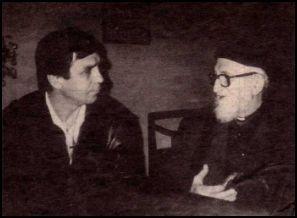 Daniel Doussin et l'Abbé Pierre