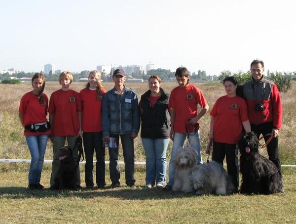 Наша команда - соревнования Одесса 25-09-2010