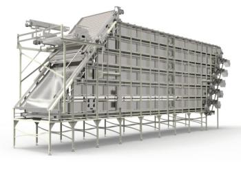 Teigwaren-Bandsilo - Thema: Maschinen - Anlagen - Projekte • Quelle: kelpa.com