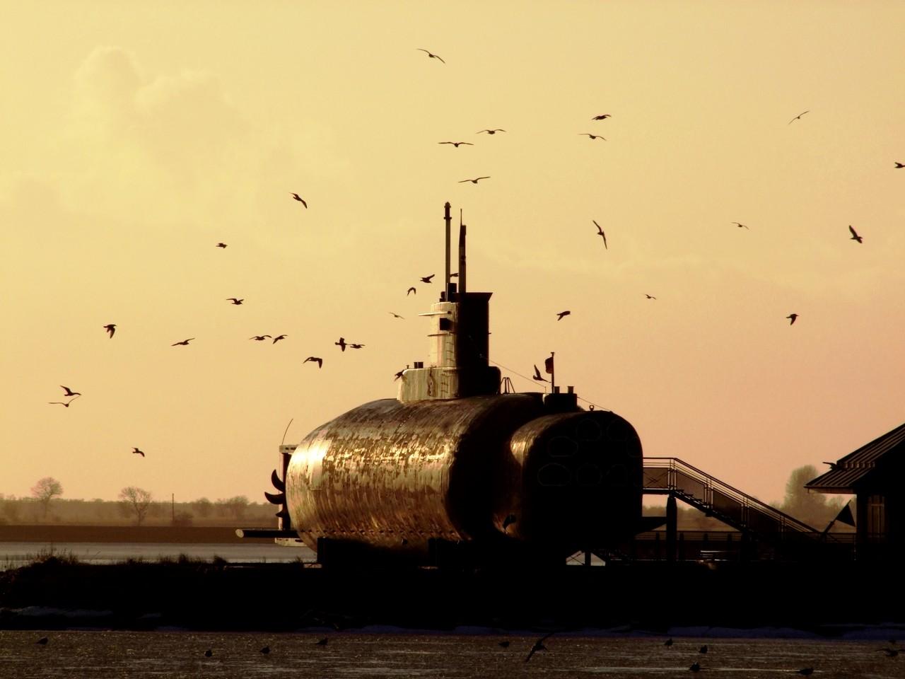 U-Boot-Museum im Hafen Burgstaaken