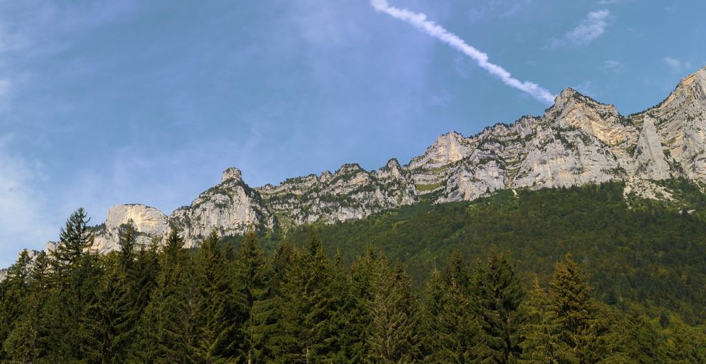 Départ du Col de Marcieu