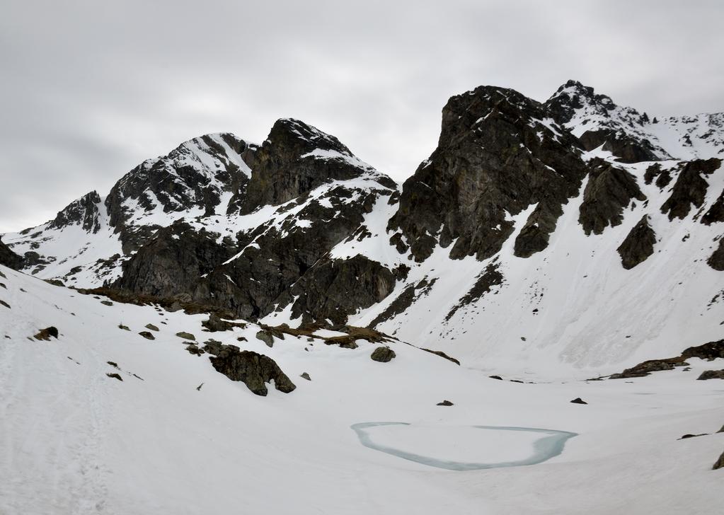 Lac du Crozet gelé