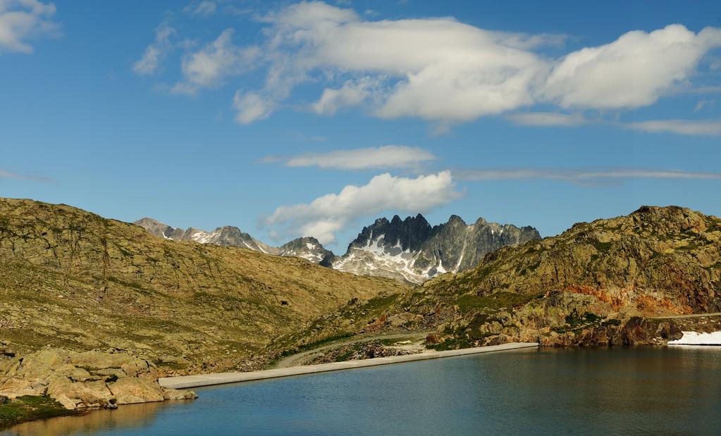 Lac Bramant et les Aiguilles de l'Arves
