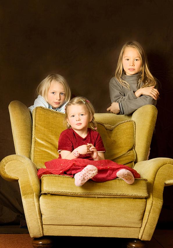 Fynn, Mia und Jana