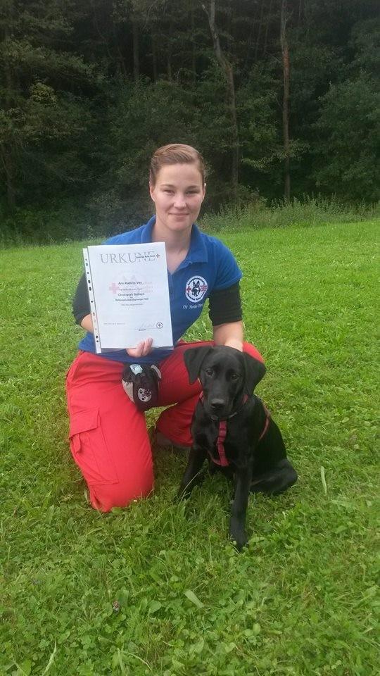 Baileys besteht den Rettungshundeeignungstest (09.14) - mit alles 1sern