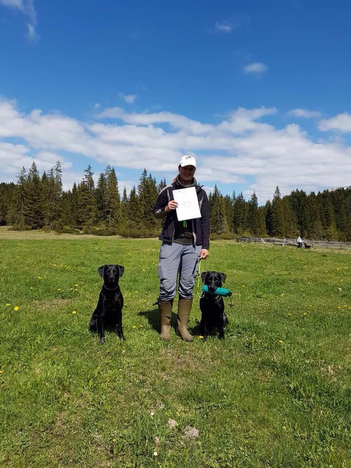 Bailey erhält das Judges Choice beim WT in Tirol