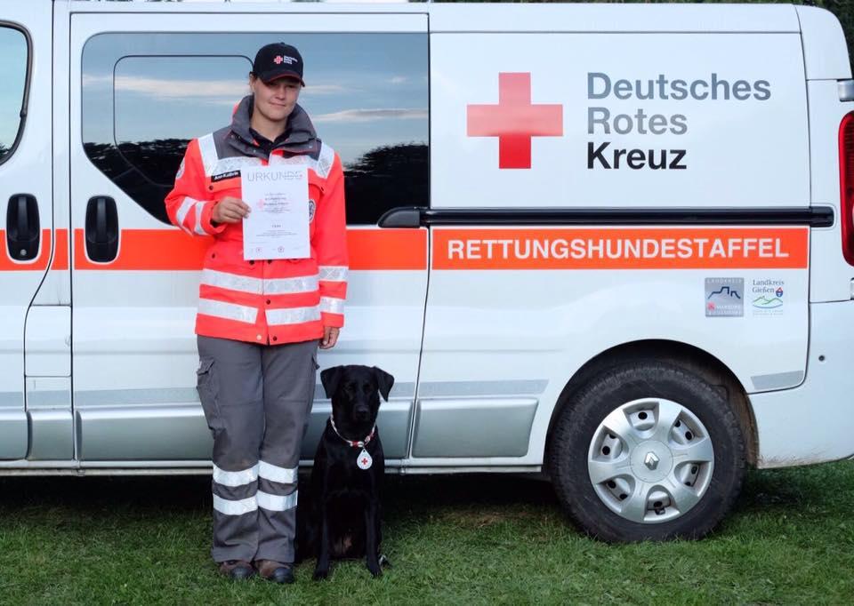 Geprüfter Rettungshund: Fläche (03.09.2017)