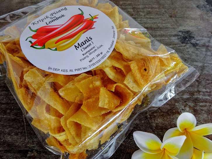 Keripik pisang Tjap Lombok