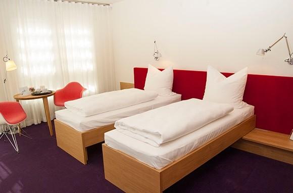"""Doppelzimmer mit verschiebbaren Betten """"Wärme"""""""