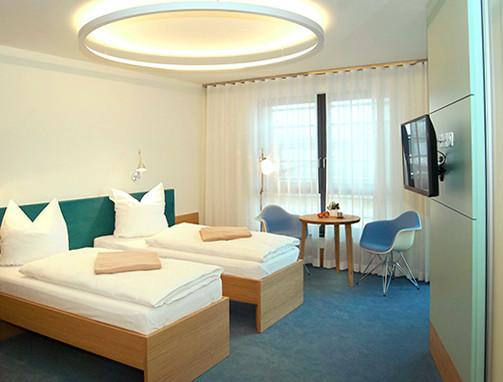 """Doppelzimmer mit verschiebbaren Betten """"Wasser"""""""
