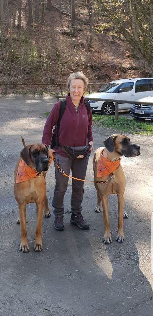 Katharina und zwei ihrer Schatzi