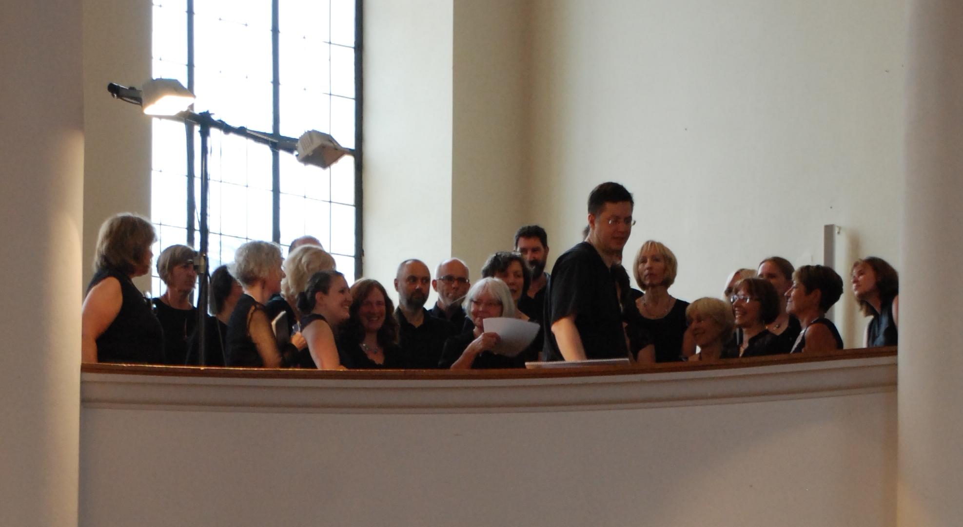 """Jubiläumskonzert """"Jüdische Geistliche Musik""""  In der ZAK in Frankenthal 2014"""