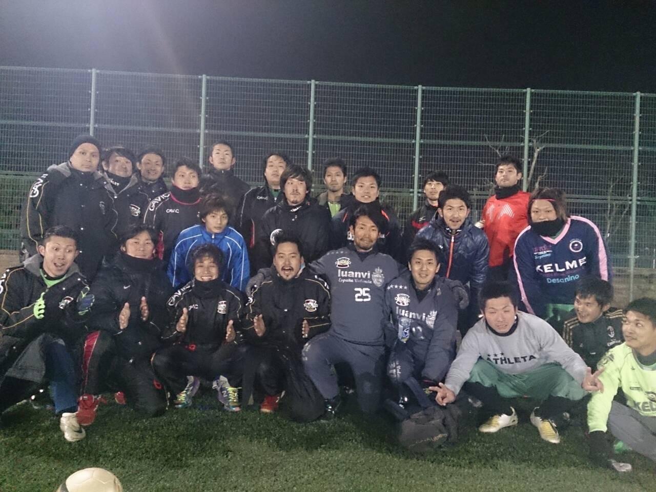 2014/2/16 服部緑地人工芝サッカー場 vs Atletico vs 北摂ユナイテッド
