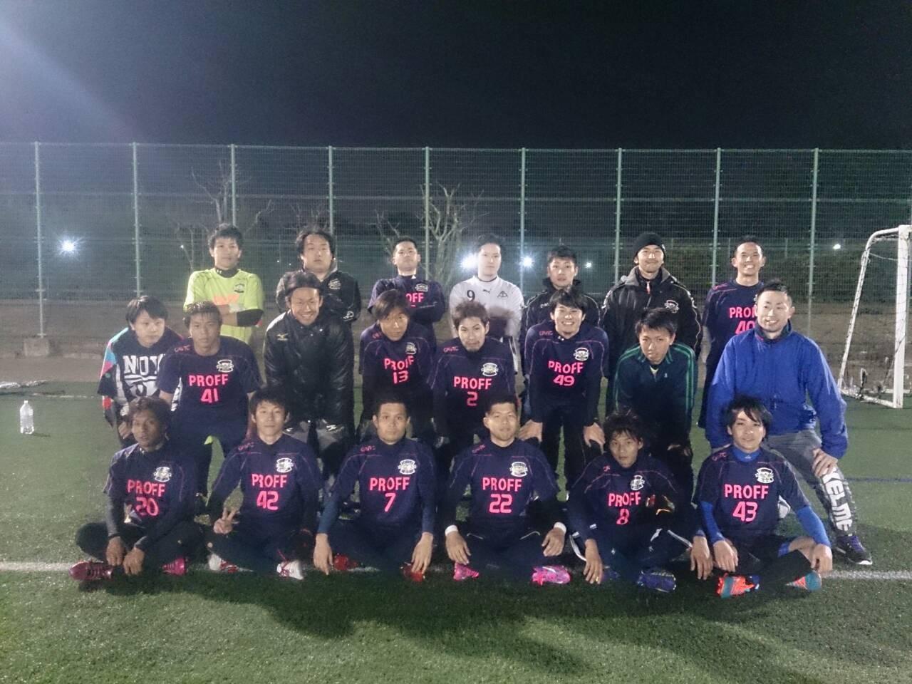 2015/3/8 服部緑地人工芝サッカー場 vs FC西宮