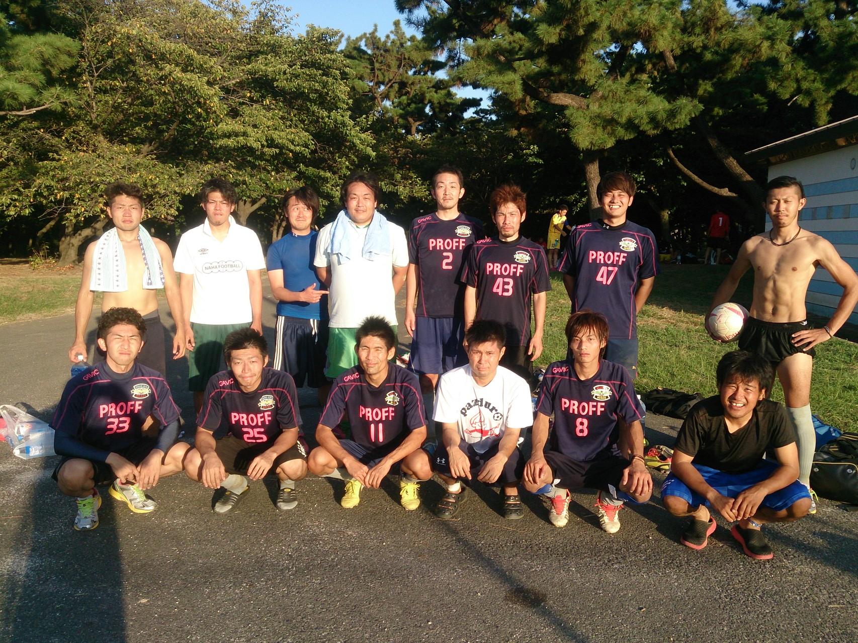 2014/9/14 浜寺公園第一球技広場 vs 法隆寺FC vs F.C.Lazo