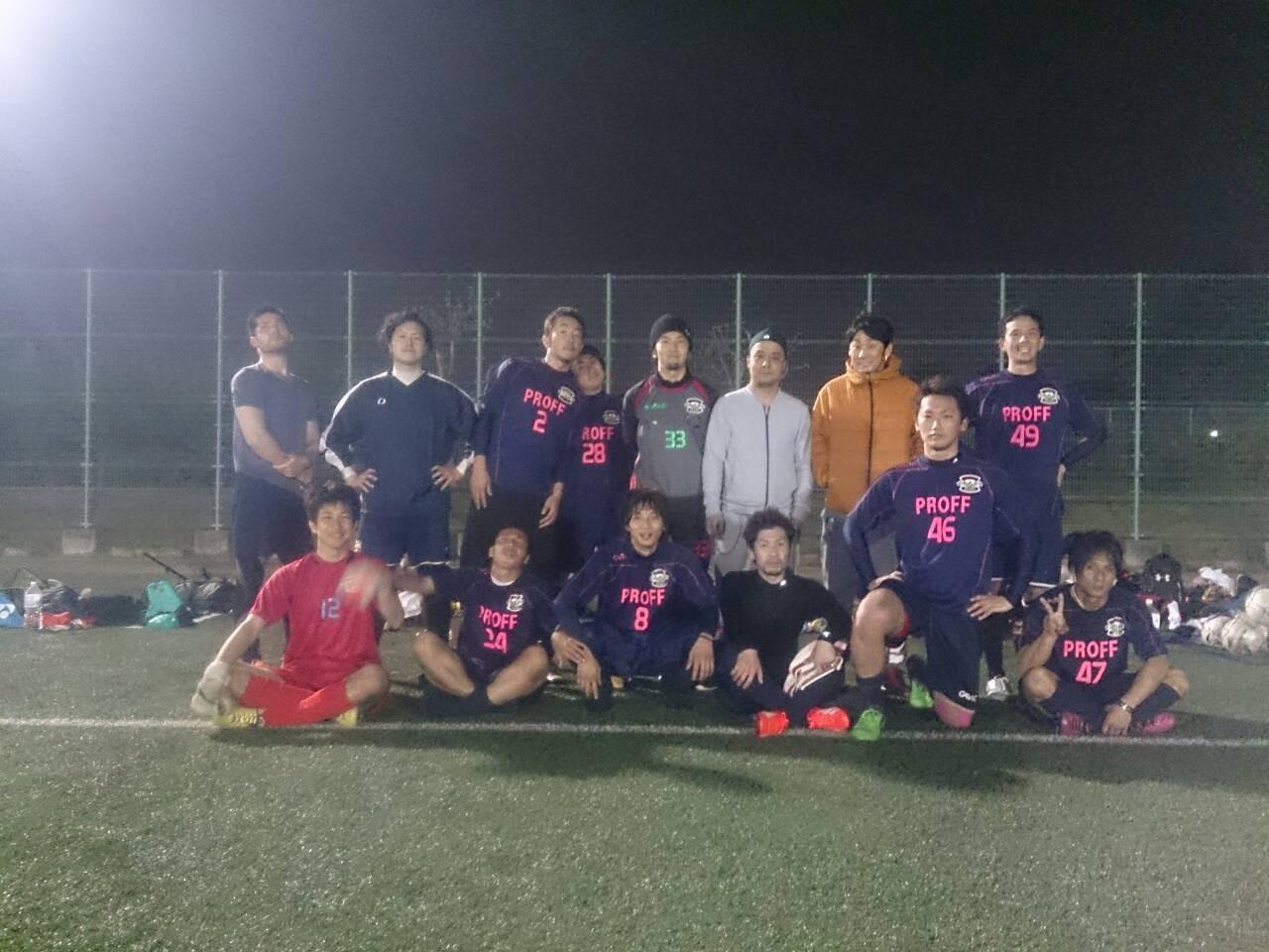 2015/4/19 服部緑地人工芝サッカー場 vs ルート11 vs SOGNO FC vs F.C.Lazo