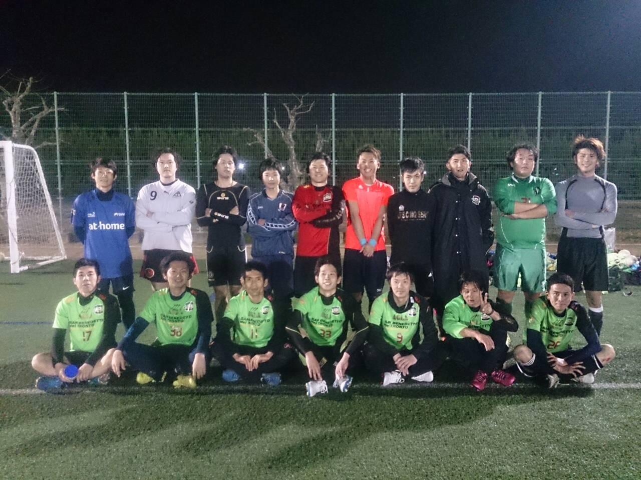 2015/3/21 服部緑地人工芝サッカー場 vs バッジーナ大阪 vs FCデルタ
