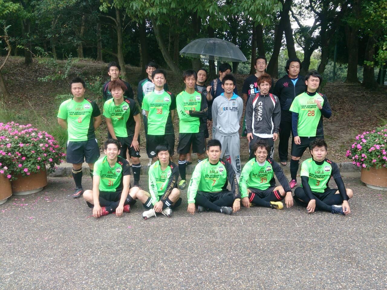 2014/10/5 寝屋川公園 vs fiducia vs ミストゥーラ