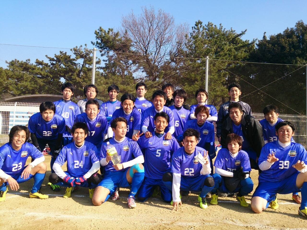2014/2/23 浜寺公園第1球技広場 vs 吹田FC
