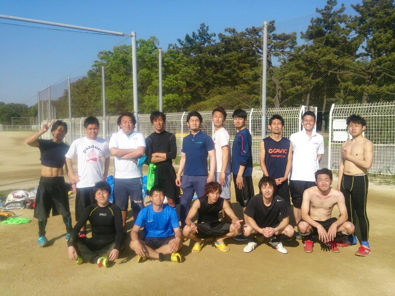 2015/4/26 浜寺公園第1球技広場 vs 豊中FC vs Piroty