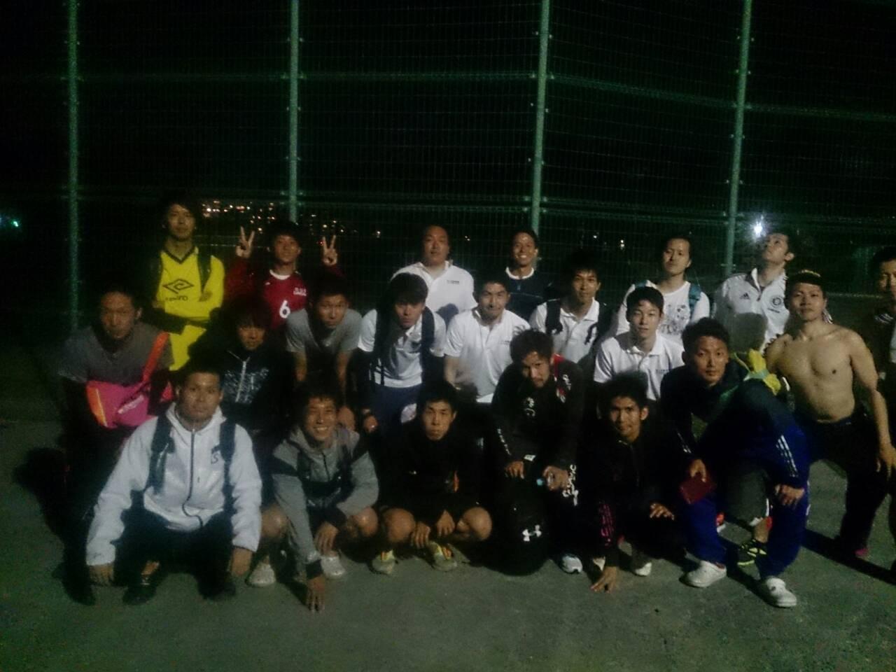 2015/6/6 服部緑地人工芝サッカー場 vs 東大阪FC OVER35 (大阪OVER35代表)