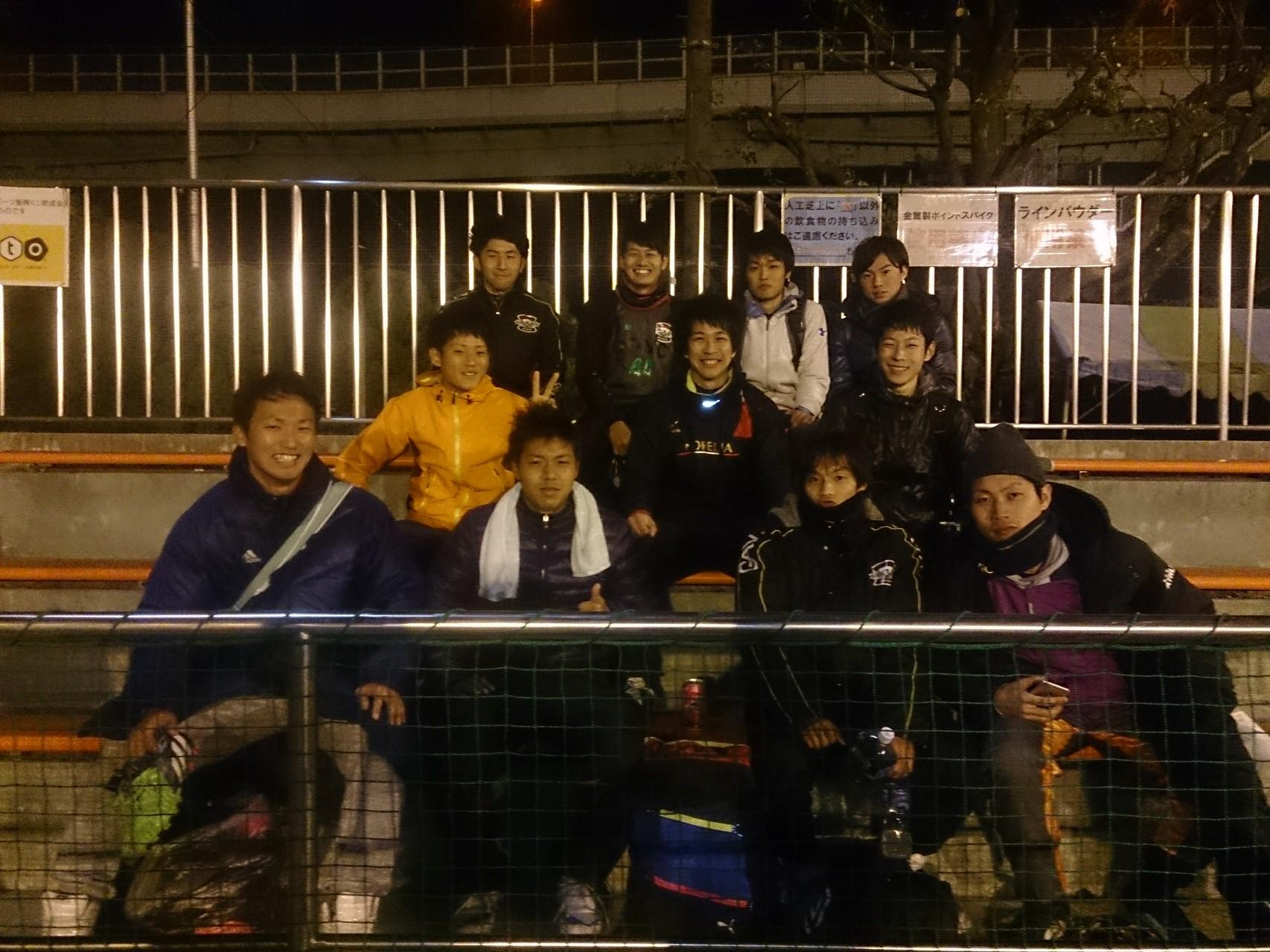 2015/1/25 高師浜運動場 vs 法隆寺FC vs 久御山FC vs AS.NiemaLs