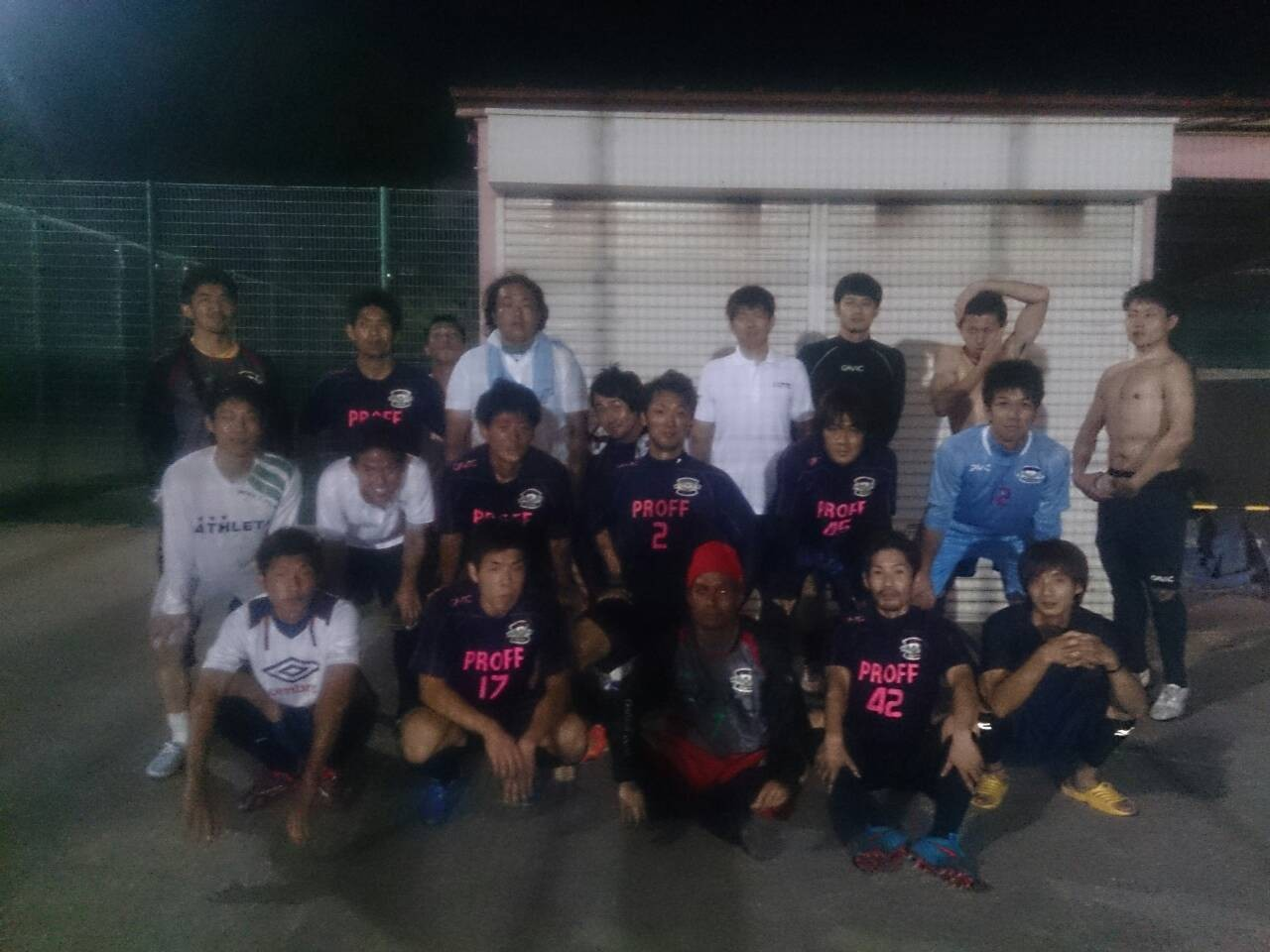 2015/6/28 服部緑地人工芝サッカー場 vs 草津FCテルフィー vs リベルタFC