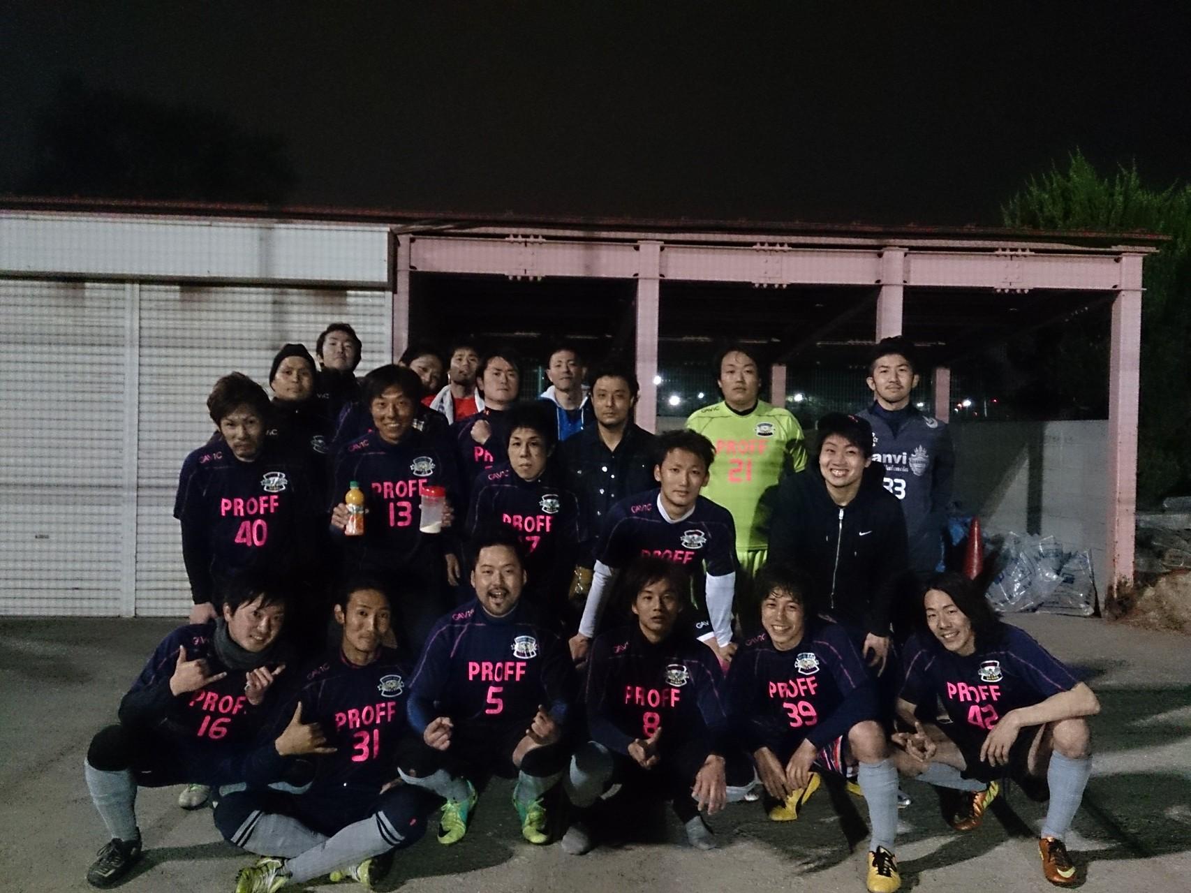 2014/4/13  服部緑地人工芝サッカー場 vs fiducia