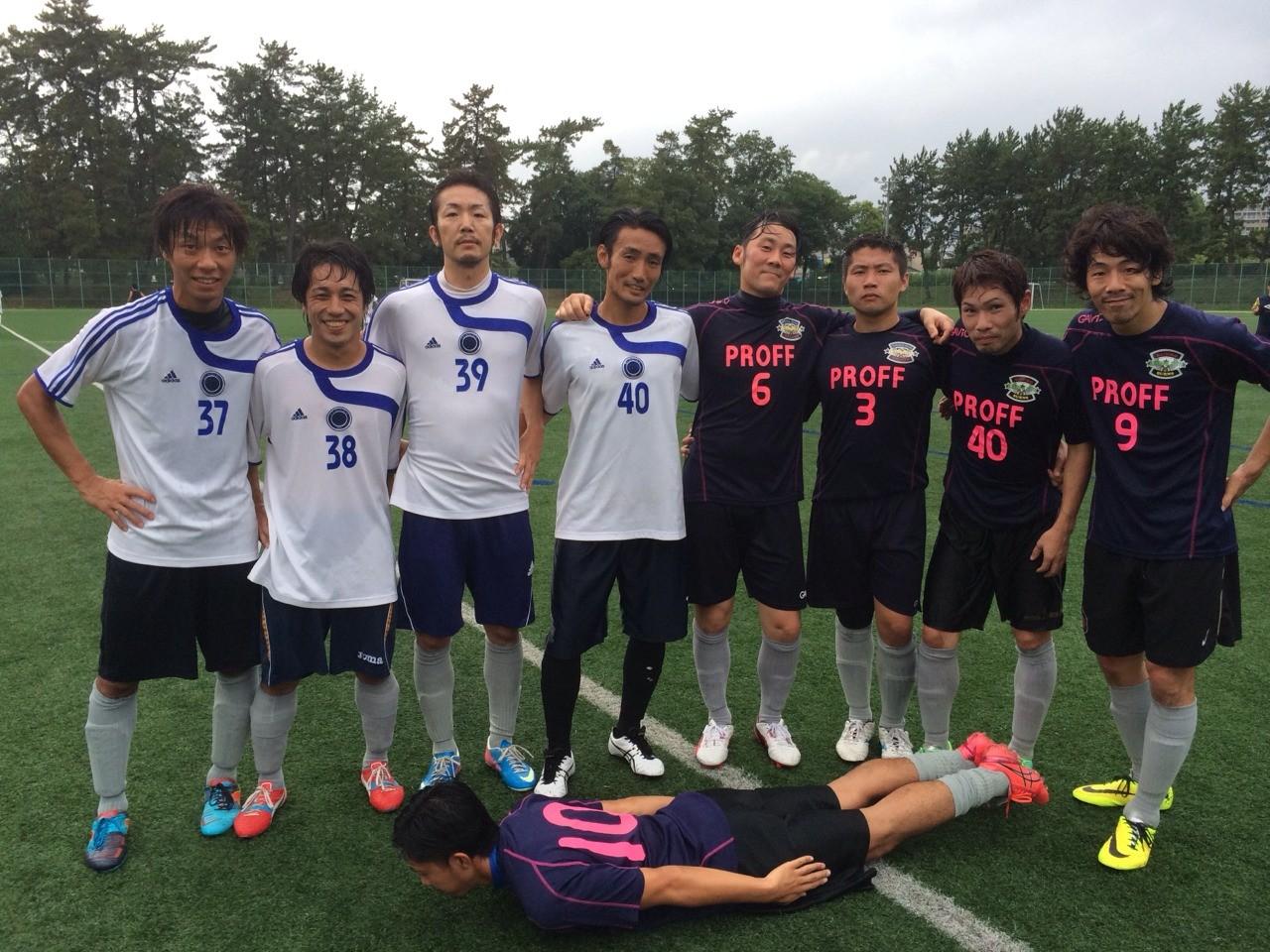 2014/8/16 服部緑地人工芝サッカー場 vs Atletico vs バッジーナ大阪