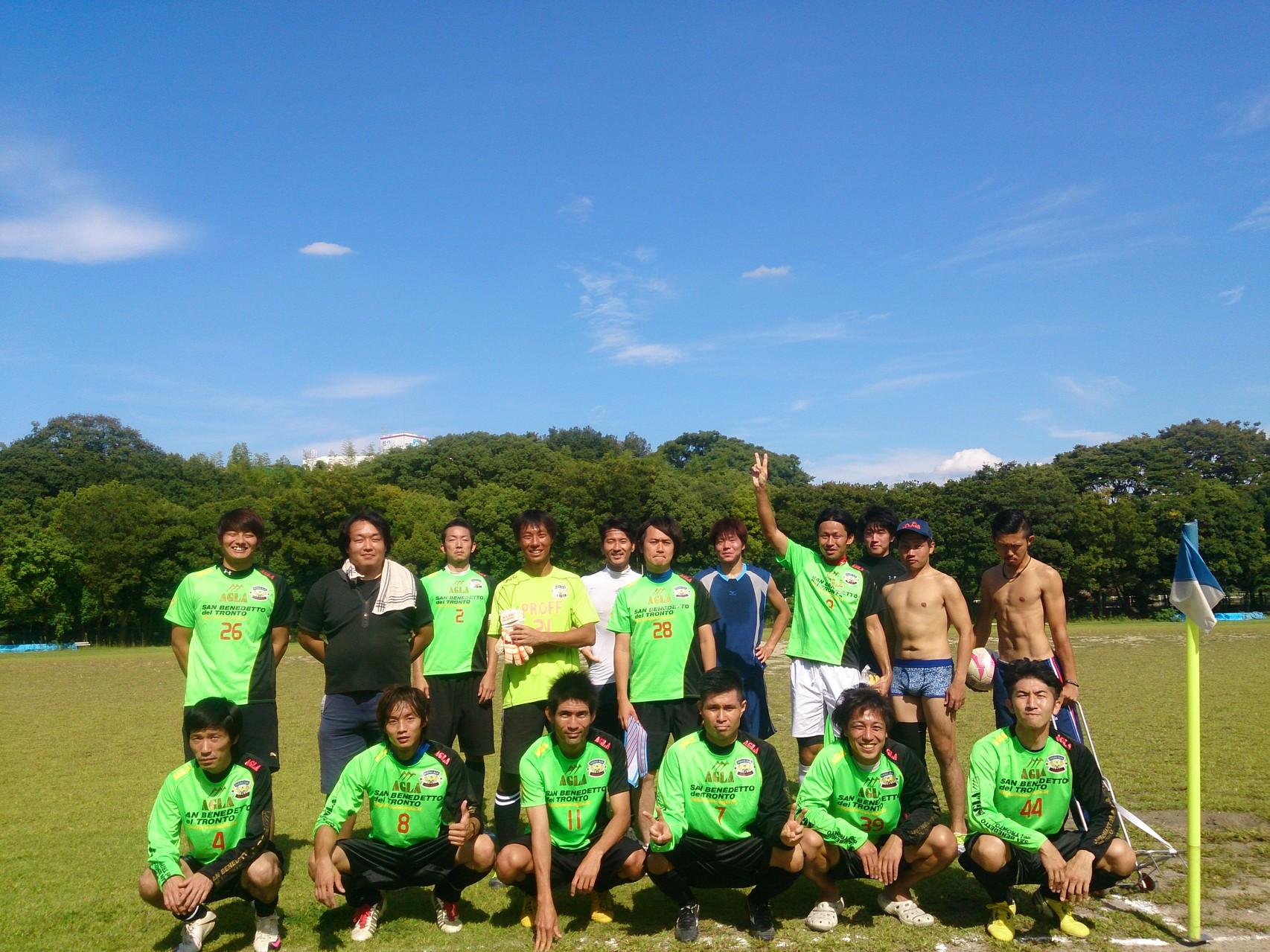 2014/9/21 寝屋川公園 vs fiducia vs FCボニート