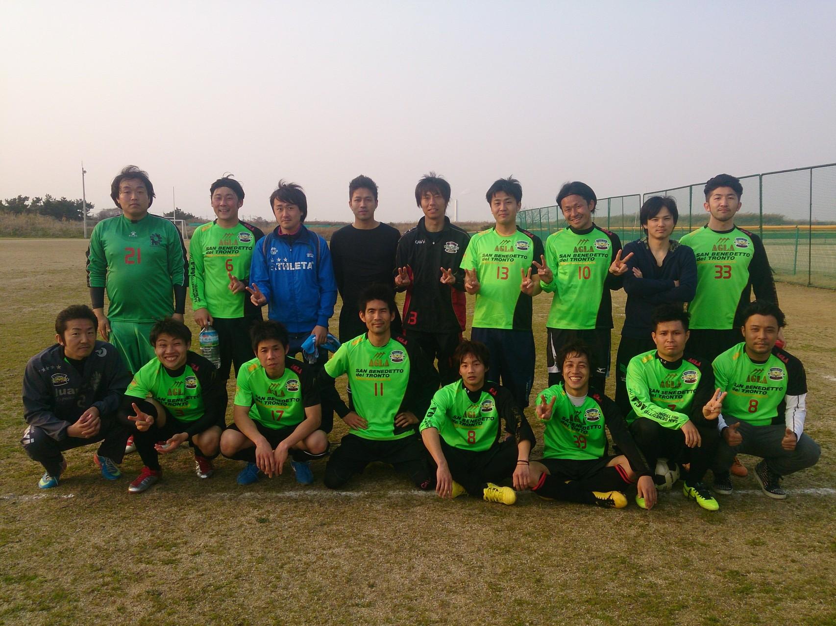 2014/3/23 みなと堺グリーン広場 vs 南無FC  vs 貝塚FC