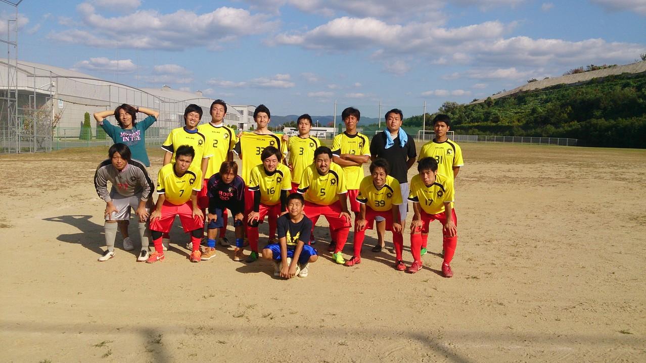 10/13 大阪府リーグ第5節 椿本チェイングランド vs WAHAHA FC