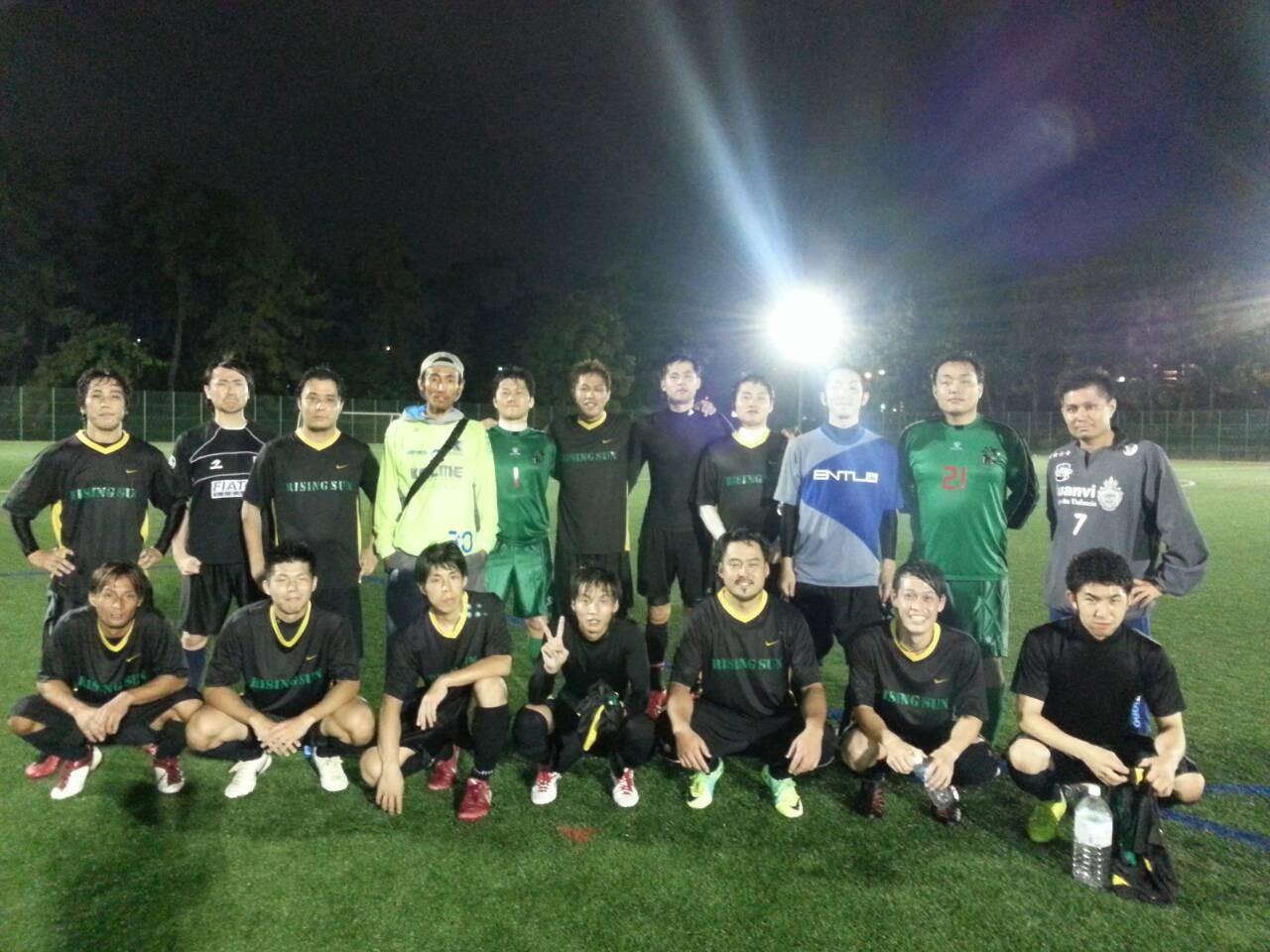 2013/10/05 服部緑地人工芝サッカー場 vs バッジーナ大阪 vs SOGNO FC