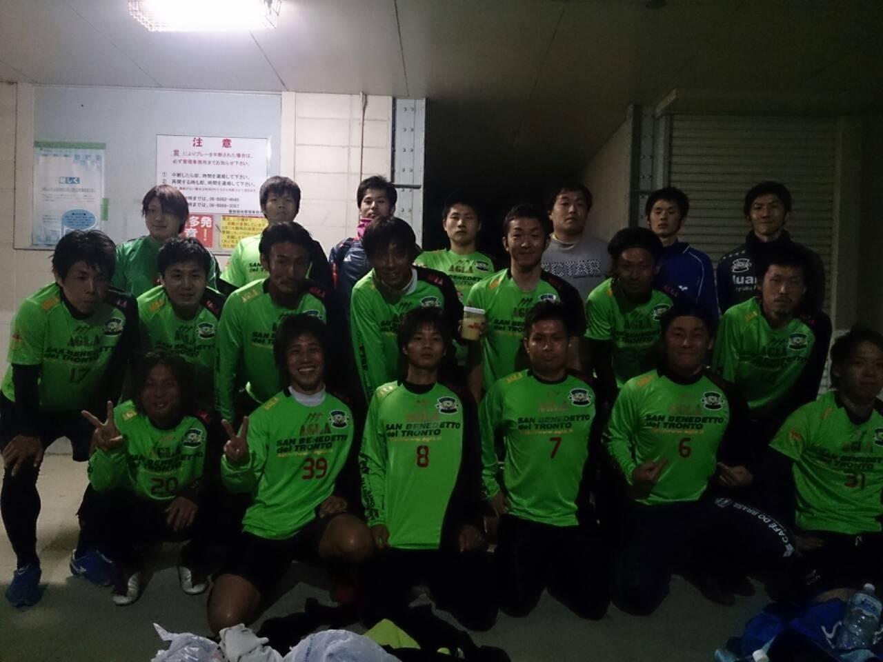 2013/12/01 服部緑地人工芝サッカー場 vs 貝塚FC