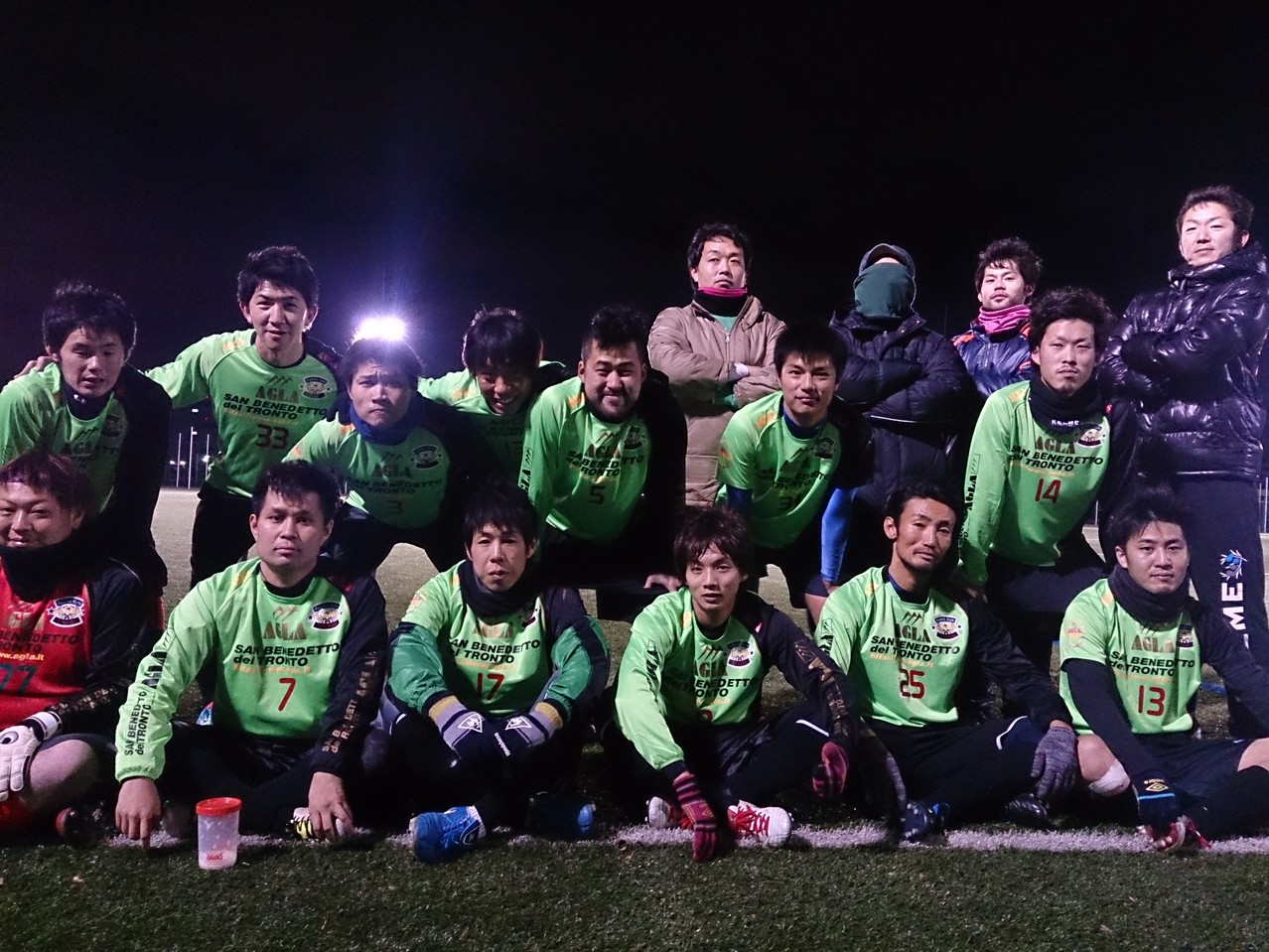 2013/12/15 J-GREEN堺 vs 紀北蹴球団