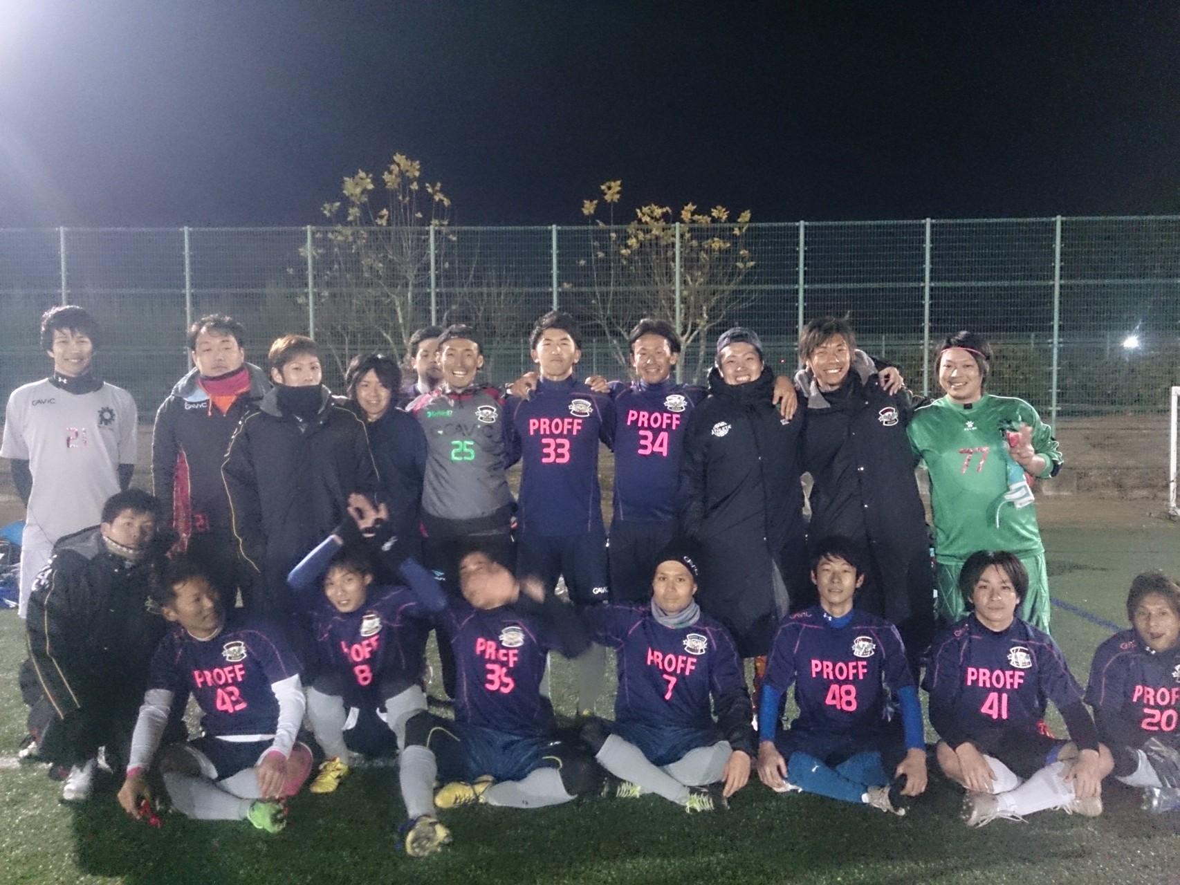 2014/12/14 服部緑地人工芝サッカー場 vs 大阪摂津トモキクラブ vs MTV大阪