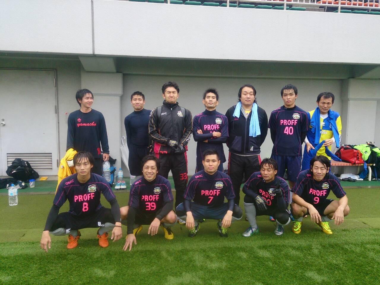 2014/11/9 南津守さくら公園人工芝サッカー場 vs 和泉クラブ vs 貝塚FC