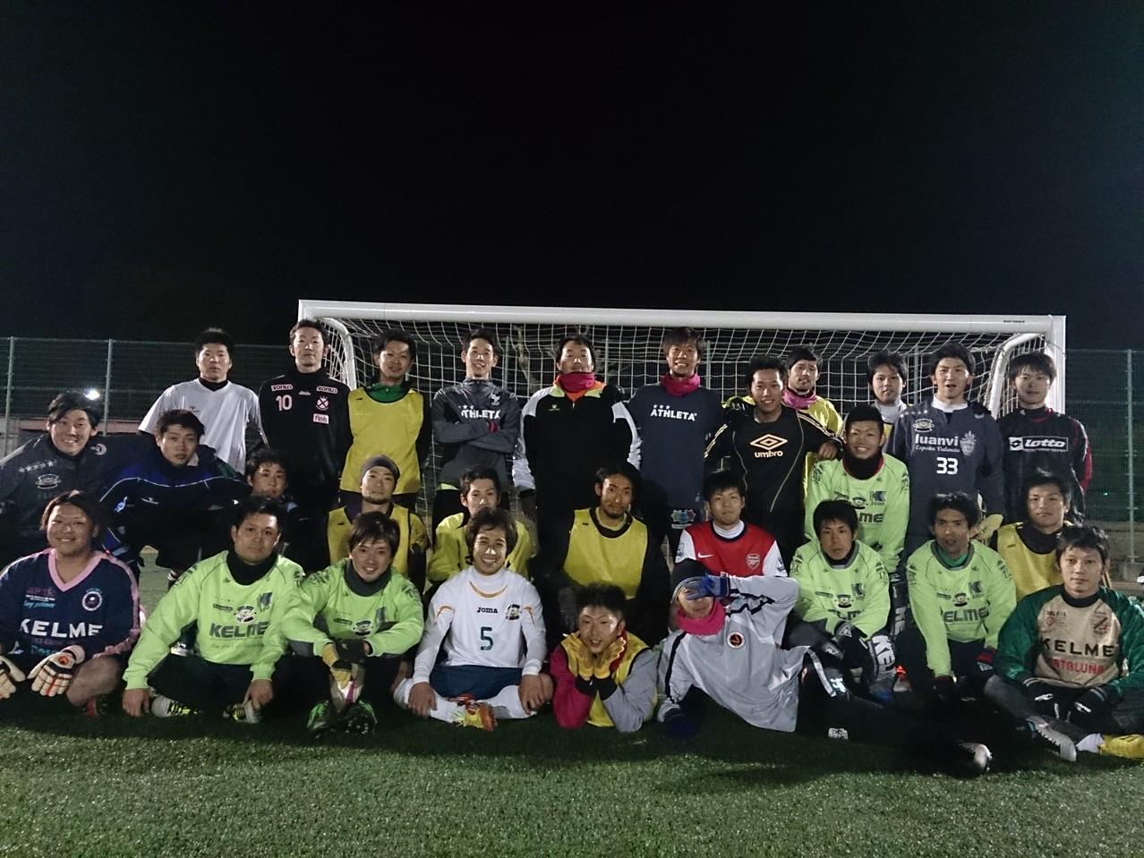 2013/12/14 服部緑地人工芝サッカー場 紅白戦