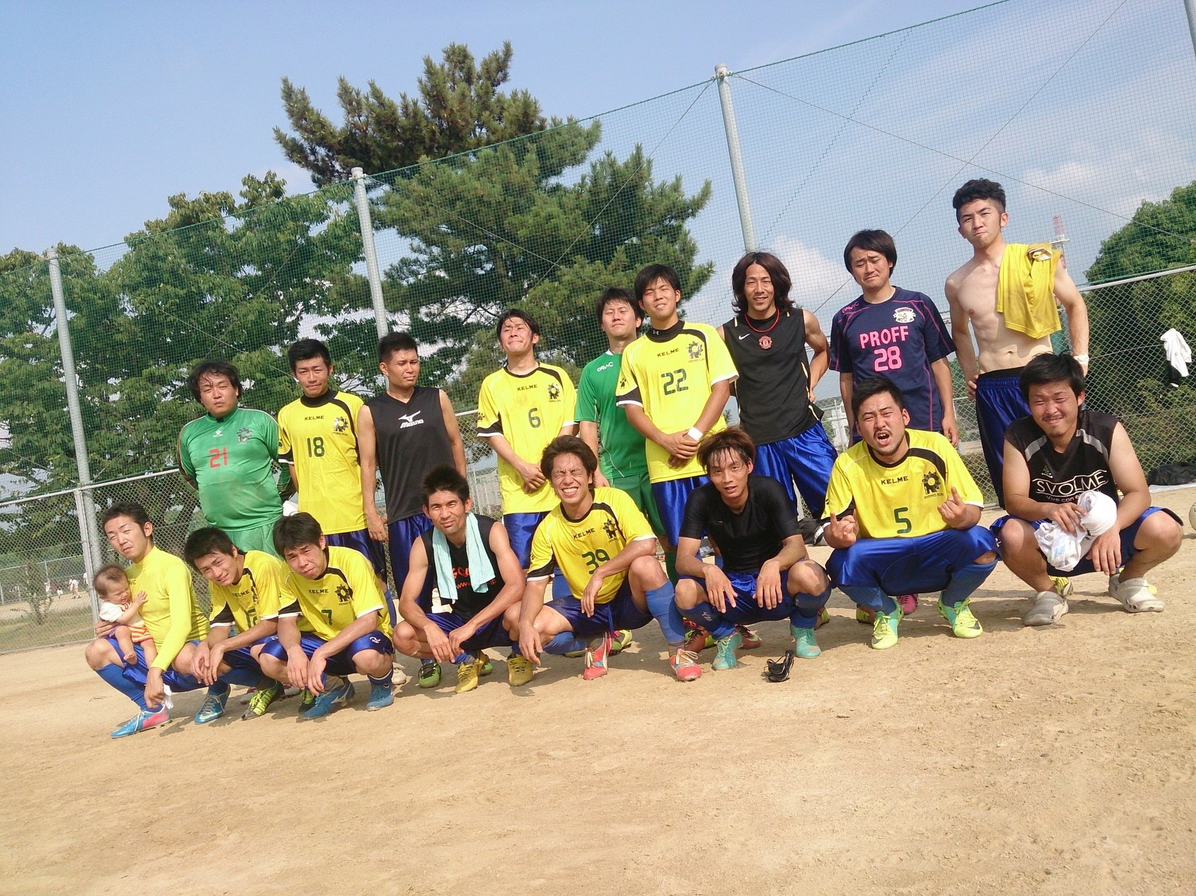 2014/7/27 大阪府リーグ第3節 浜工業公園球技広場 vs 泉陽クラブ