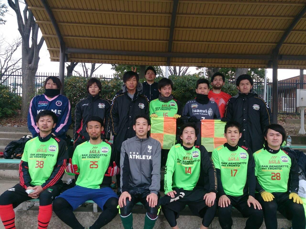2014/1/5 寝屋川公園  vs エンクエントロ  vs FCボニート  vs 枚方FCユナイテッド