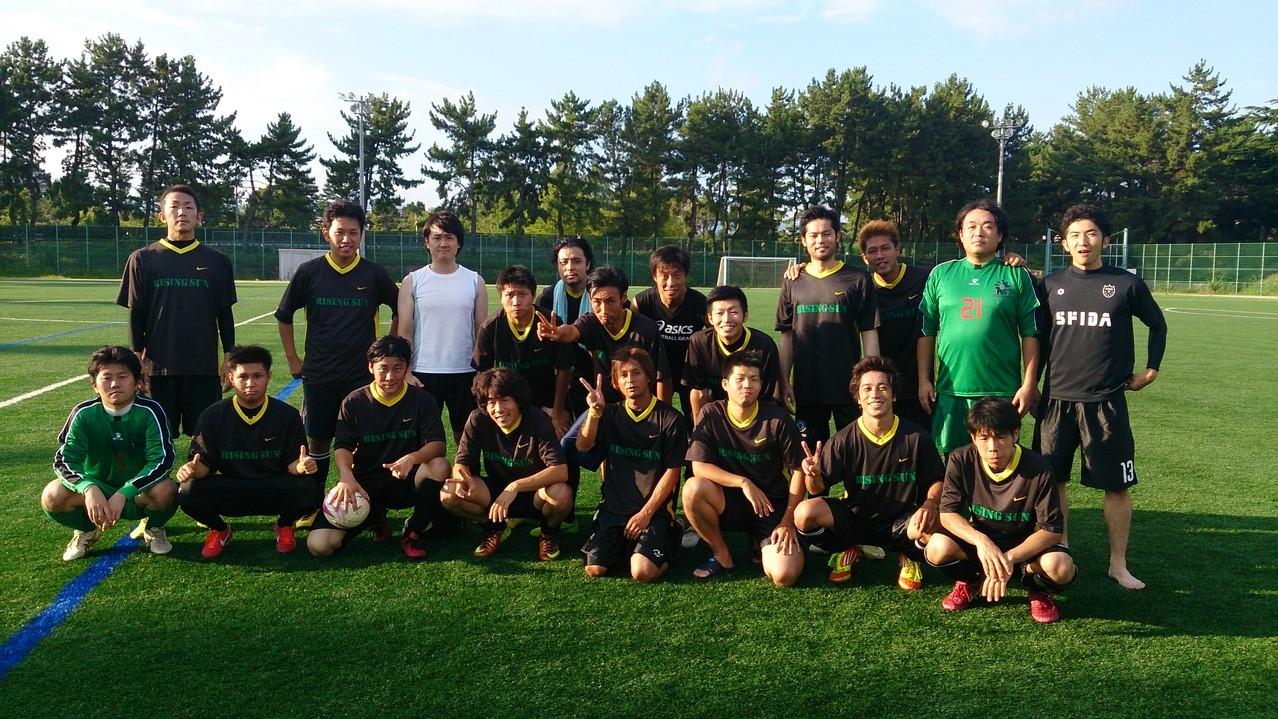 2013/8/25 服部緑地人工芝サッカー場 vs 豊中FC vs 桂向FC