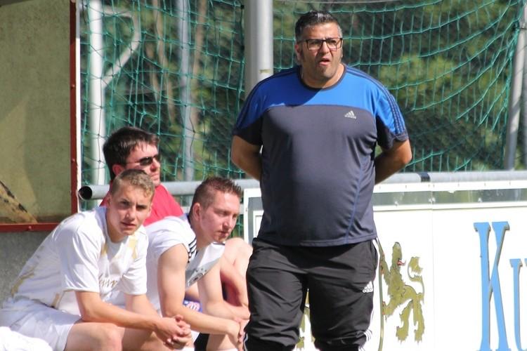 Kickers-Coach Jakob Schleicher strahlt Ruhe und Zuversicht aus