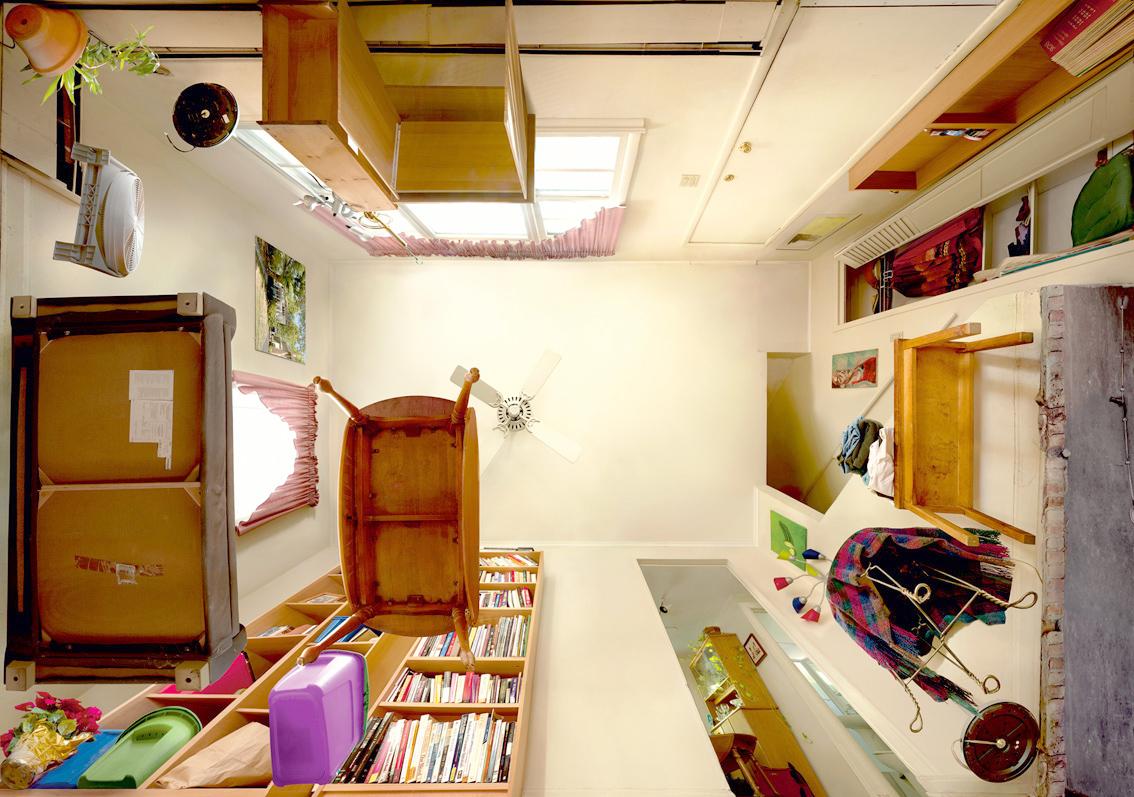 Bed Van Karton : Simple einstellbare truck bed bike rack