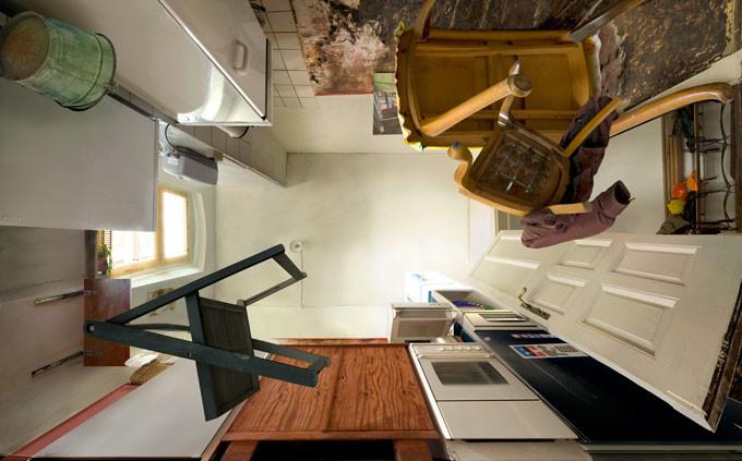 """""""own kitchen"""" • 2010 • 200 x 326 cm"""
