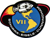 Mission patch Apollo 7