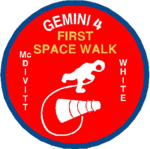 Mission patch Gemini 4