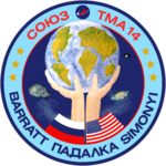 Mission patch Sojus TMA-14