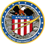 Apollo 16 mission patch