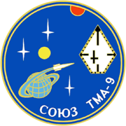 Mission-patch Sojus-TMA-9